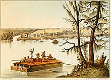 Bayou Sara, Louisiana, 1840s