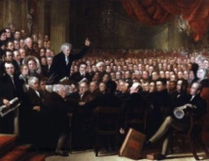 At the first World Anti-Slavery Convention in 1840 female delegates were banned.