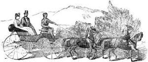 Lucretia Mott's carriage was stoned in Delaware.