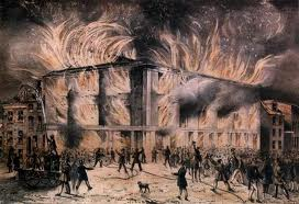 Pennsylvania Hall was burned to the ground by crowds alarmed that white and black women were holding public meetings.