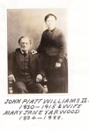 John Platt II and Mary Ann Williams