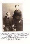 John Platt II and Mary Ann Williams